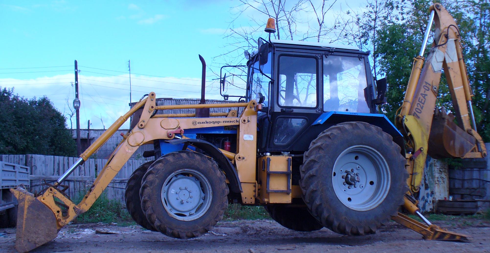Малогабаритный трактор МТЗ-310 | Малая спецтехника трактор т25